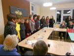 Posezení po 1.adventním koncertu v kostele v Krásné Lípě
